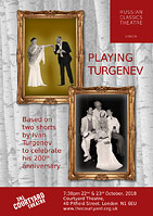 Russian Classics Theatre presents playing Turgenev